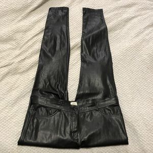 Wilfred faux leather pant
